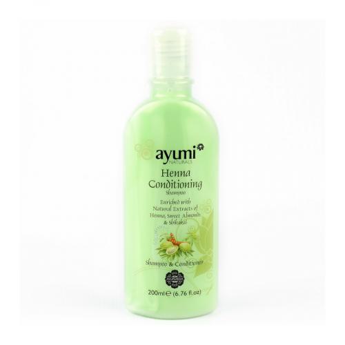 Shampoing Ayurvédique au Henné & Shikakai